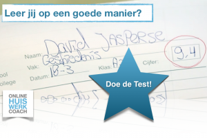 Online Huiswerkcoach Doe de test